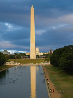Capitol Building and Washington Monument by Jean-pierre Lescourret