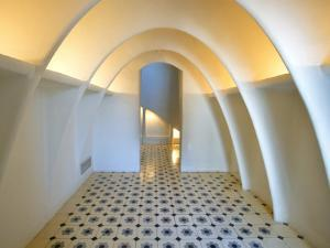 Interior of Casa Batllo by Antoni Gaudi by Jean-pierre Lescourret