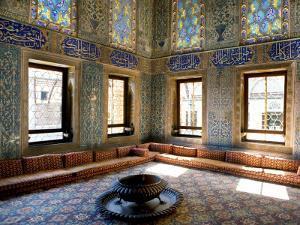 Interior of Topkapi Palace by Jean-pierre Lescourret