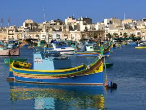 Marsaxlokk Harbour by Jean-pierre Lescourret