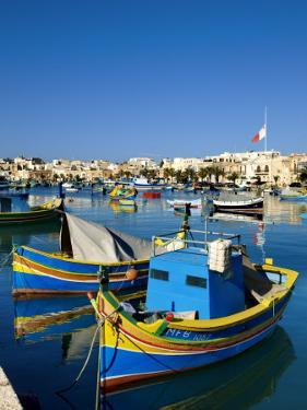 Marsaxlokk Harbour by Jean-pierre Lescourret
