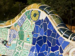 Parc Guell by Antoni Gaudi by Jean-pierre Lescourret