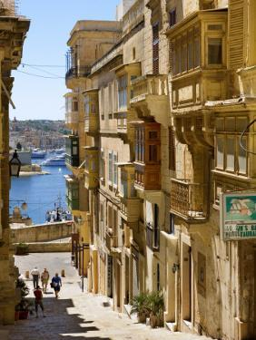 Street in Valletta by Jean-pierre Lescourret