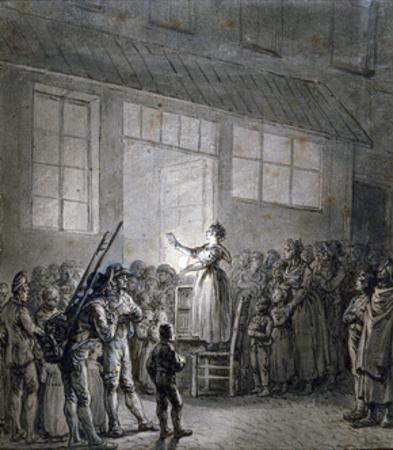 A Popular Singer, 19th Century