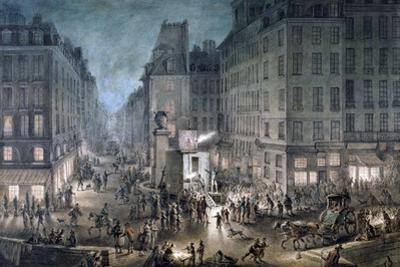 Parade on the Place De L'Ecole, 1823