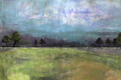 Abstract Aqua Sky Landscape