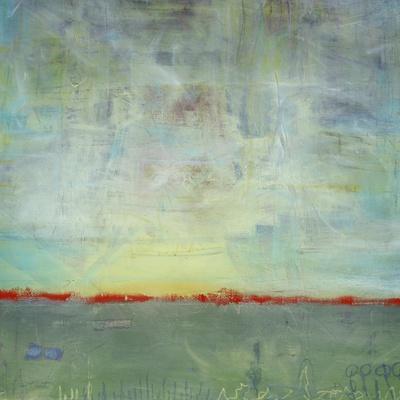 Abstract Sunrise Landscape I