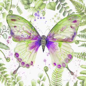 Botanical Butterfly Beauty 3 by Jean Plout
