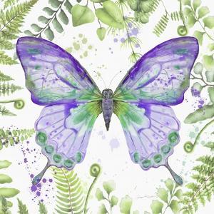 Botanical Butterfly Beauty 4 by Jean Plout
