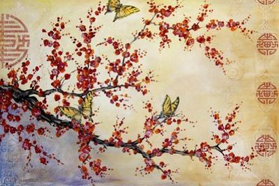 Butterfly Blossoms-Asian by Jean Plout