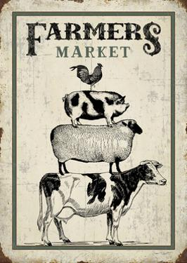 Country Farmers Market by Jean Plout