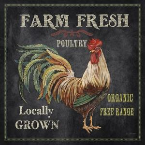 JP2634_Farm Fresh Rooster by Jean Plout