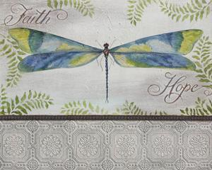 JP2680-Dragonfly Of Faith and Hope by Jean Plout