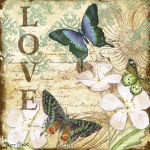 JP3631_Inspirational Butterflies-love by Jean Plout