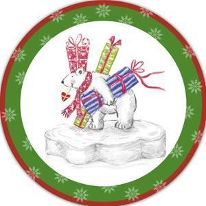 JP3654-Christmas Bear by Jean Plout