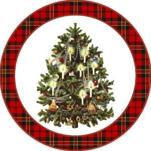 JP3661-Christmas Tree Plaid by Jean Plout
