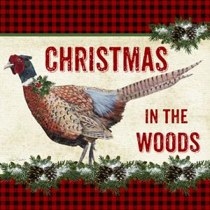 JP3676-Christmas In The Woods by Jean Plout