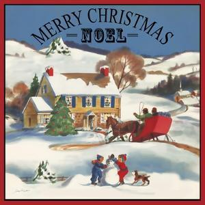 Merry Christmas-Noel by Jean Plout