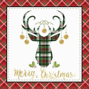 Plaid Christmas 1 by Jean Plout