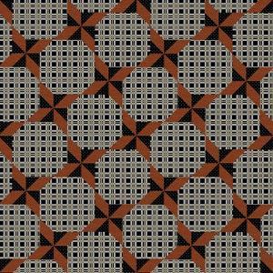 Rustic Pinwheel 1 by Jean Plout