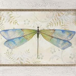 Summer Dragonfly 1 by Jean Plout