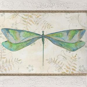 Summer Dragonfly 3 by Jean Plout