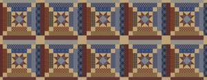 Vintage Americana Quilt by Jean Plout