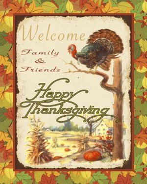 Vintage Thanksgiving-D by Jean Plout