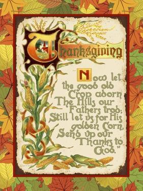 Vintage Thanksgiving-F by Jean Plout