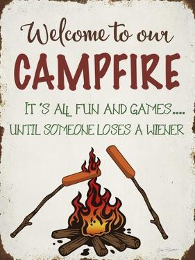 Welcome To Our Campfire 1 by Jean Plout