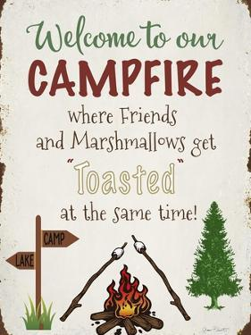 Welcome To Our Campfire 2 by Jean Plout