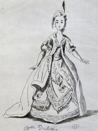 Mademoiselle Dubois in Role of Josabeth in Athalie