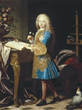 Charles III of Spain as a Child by Jean Ranc
