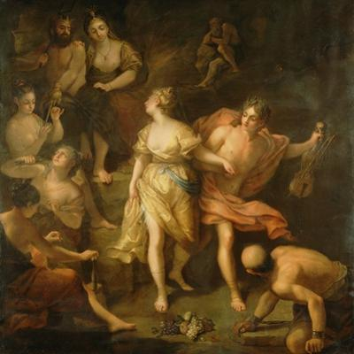 Orpheus and Eurydice, c.1709 by Jean Raoux