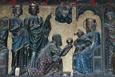 Adoration of the Magi, Bas-Relief on the Choir with Stories from the Life of Christ