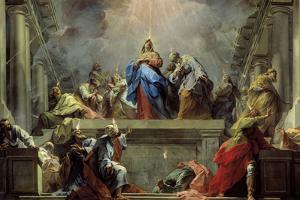 Pentecost by Jean Restout