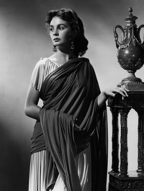 Jean Simmons ANDROCLES AND THE LION, 1952 directed by CHESTER ERSKINE (b/w photo)