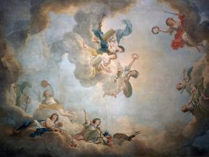 Ceiling of Marie Antoinette's Playroom, Chateau De Fontainbleau, C1763-1811 by Jean Simon Berthelemy