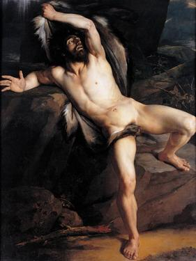 Cain after the Killing of Abel by Jean-Victor Schnetz