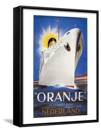Dutch Travel Poster, 1939