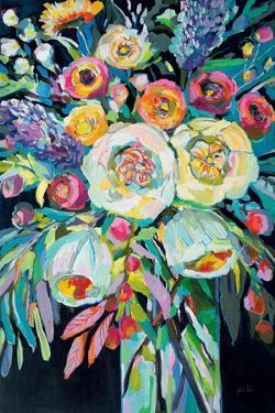 Lilys Bouquet Black by Jeanette Vertentes