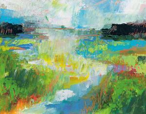 Misty River by Jeanette Vertentes