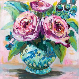 Pink Peonies II by Jeanette Vertentes