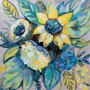 Sage and Sunflowers I by Jeanette Vertentes