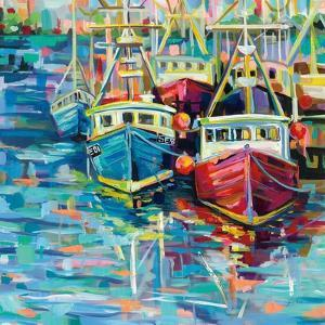 Stonington Docks by Jeanette Vertentes