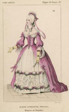 Jeanne-Antoinette Poisson (Marquise de Pompadour), Mistress to Louis XV of France