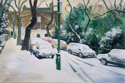 Campden Hill Square, 1996 by Jeanne Maze
