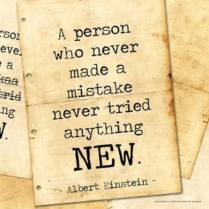 Never Made a Mistake - Albert Einstein Classic Quote by Jeanne Stevenson