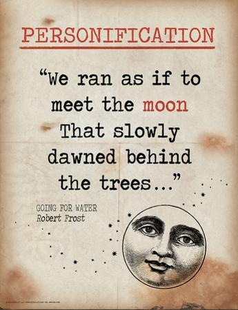 Personification (Quote from Going for Water by Robert Frost) by Jeanne Stevenson
