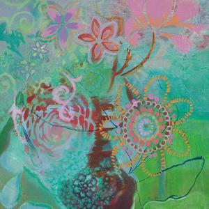 Bohemian Blooms by Jeanne Wassenaar